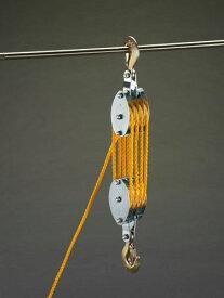 エスコ(ESCO) 200kg ロープホイスト(φ7mmx20mロープ付) EA987CH-10