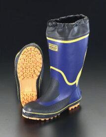 エスコ(ESCO) 28.0cm 安全長靴(アメゴム) EA998RG-28