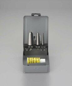 【決算SALE!9月20日・25日はP5倍!】エスコ(ESCO) 4-30mm ステップドリル(3本組・HSS) EA825GC