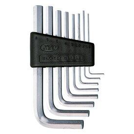 KTC(京都機械工具) ハイグレードL形スタンダード六角棒レンチセット 8本組 HLD1008