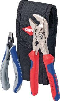 钳子扳手+电缆刻刀安排飞机式样001972V01 KNIPEX(kunipekkusu)