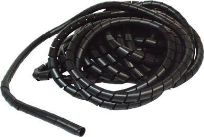 スパイラルチューブ 結束径15.0〜50.0 黒 TSP-19 BK TRUSCO(トラスコ)