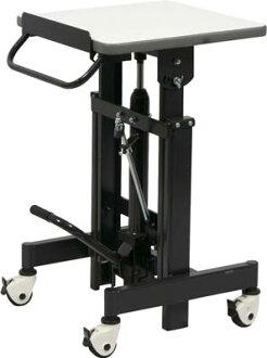 升降台灯200kg液压缸式倾斜在的450*450 SHSH-200-45C TRUSCO(桁架共)
