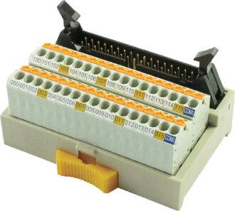 彈簧鎖式接頭端子的台階PCX-1H34-TB34-K1 TOGI(東洋技研)