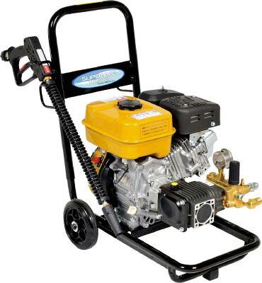 【直送】【代引不可】スーパー工業 エンジン式高圧洗浄機 コンパクト&カート型 SEC-1015-2