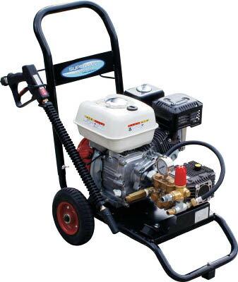 【直送】【代引不可】エンジン式高圧洗浄機 コンパクト&カート型 SEC-1315-2 スーパー工業