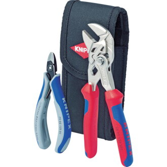 KNIPEX (country pecks) pliers wrench + cable cutter set plane specifications 001972V01