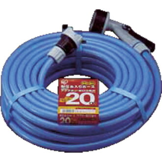 IRIS (IRIS OHYAMA) withstand pressure cotton-silk fabric cut hose slim 20m blue 20M-AJ-12