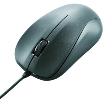 USB optical mouse (M size) black M-K6URBK/RS ELECOM (Elecom)