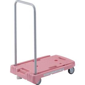 TRUSCO(トラスコ) こまわり君 省音G車輪 600X390mm ピンク 樹脂ストッパー付 MP-6039N2-P-JS