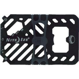 NiteIze(ナイトアイズ) ファイナンシャルツールマルチツールウォレット BK NI03967