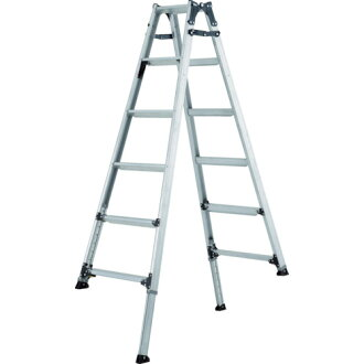 Use of extension stepladder (wide a step) 150cm maximum mass 100 kg PRW150FX ALINCO (ALINCO)