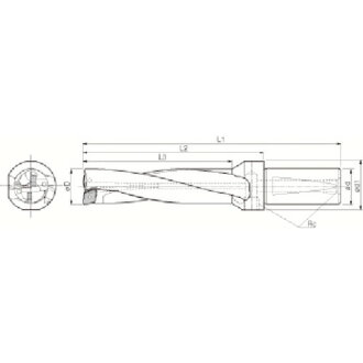 Holder S32-DRZ29116-10 Kyocera for the drill