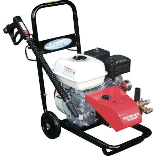 【直送】【代引不可】エンジン式高圧洗浄機 (コンパクト&カート型) SEC-1015-2N スーパー工業