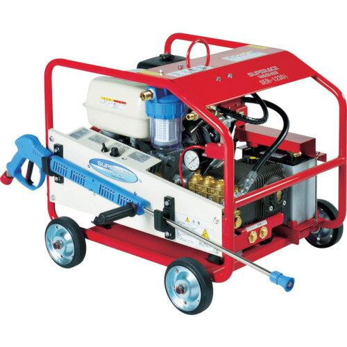 【直送】【代引不可】ガソリンエンジン式 高圧洗浄機 SER-1230I スーパー工業
