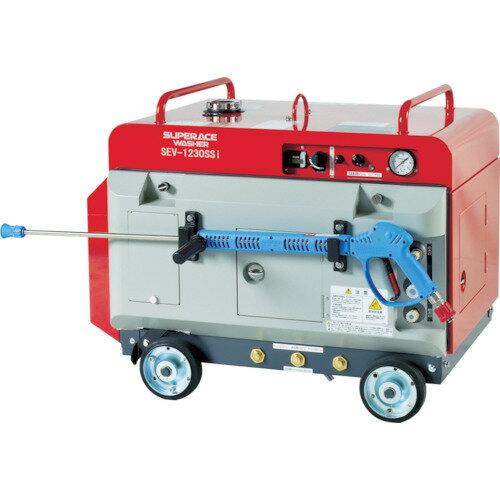【直送】【代引不可】エンジン式 高圧洗浄機 (防音型) SEV-1230SSI スーパー工業