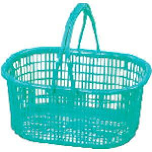 DICプラスチック 収穫カゴ グリーン SKG-G