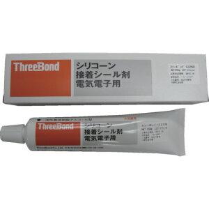 ThreeBond(スリーボンド) 電気・電子用シリコーン接着シール剤 TB1225B 250g 白色 TB1225B