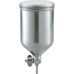 TRUSCO(トラスコ) ステンレス塗料カップ 重力式用 容量0.4L 脚付 TGC-04C