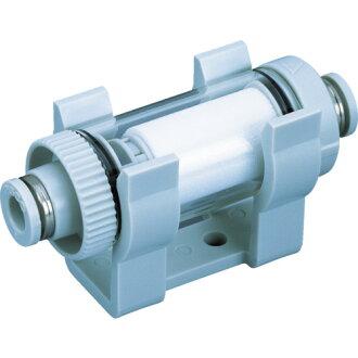 진공용 필터 소형 유니온 수지 타입 VFU2-44 P PISCO(피스코)
