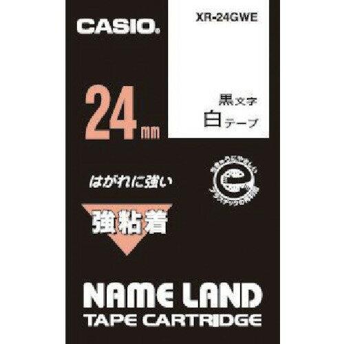 CASIO(カシオ計算機) ネームランド用強粘着テープ 24mm XR-24GWE