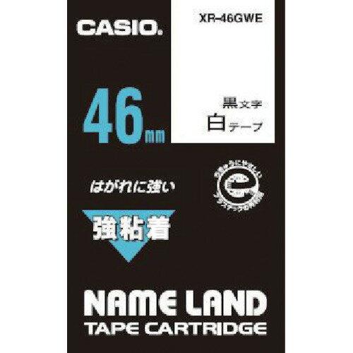 CASIO(カシオ計算機) ネームランド用強粘着テープ 46mm XR-46GWE