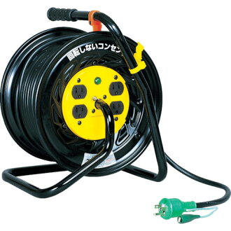 30m Z-E34 Nichido (NICHIDO) with electrical industry drum magic reel 100V ground