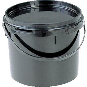 【8月1日(日)は全商品P5倍!】サンコー ペール容器 サンペール#5.5(本体) ブラック 400606-02BK