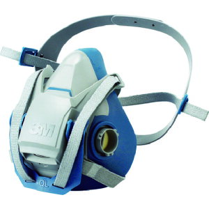 3M 防毒マスク面体 6500QL Sサイズ 防じんマスク兼用(区分2-3兼用) 6500QLS CL2-3