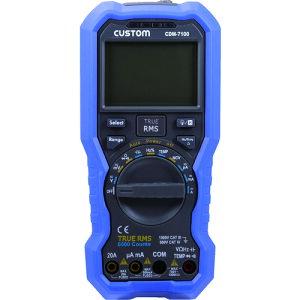 【7/25(日)は全商品P5倍!】 CUSTOM(カスタム) デジタルマルチメータ CDM-7100