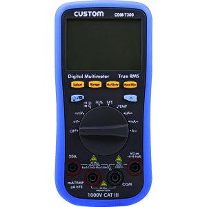 【7/25(日)は全商品P5倍!】 CUSTOM(カスタム) デジタルマルチメータ CDM-7300