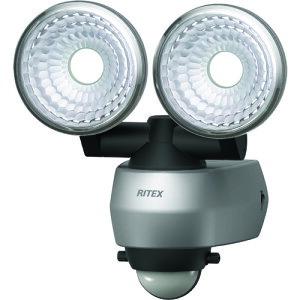 ムサシ(MUSASHI) 7.5W 2灯 LEDセンサーライト LED-AC315