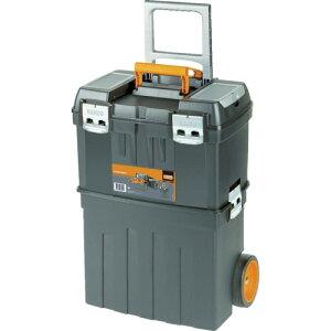 【直送】【代引不可】 BAHCO(バーコ) ヘビーデューティー仕様キャスター付きプラスチックボックス 4750PTBW47