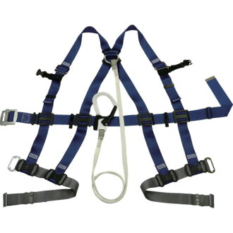 Full harness security zone (with an orchid yard) light weight buckle expression orchid yard 551-2-SK-SQ-B Tanizawa to wind off