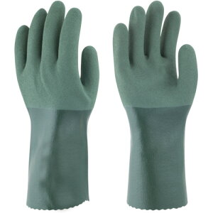 トワロン(東和コーポレーション) ゴム手袋 耐油ハードロング LL 566-2L