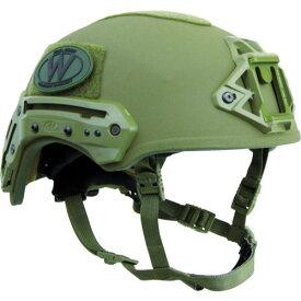 TEAM WENDY Exfil バリスティックヘルメット レンジャーグリーン サイズ2 73-72S-E72
