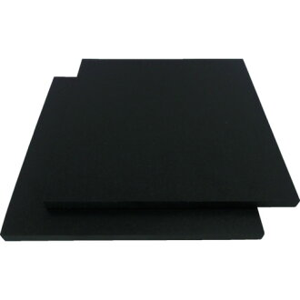 WAKI (Waki Sangyo) cushion rubber 10X250X250mm A25