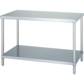 Stainless steel work table solid shelves with 1500X600X8 00 ABN-15060 Shinko