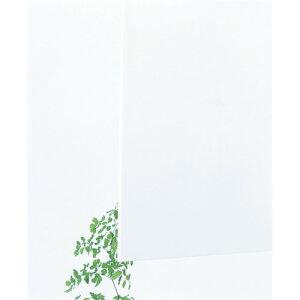 【直送】【代引不可】 光 アクリルキャスト板 白 3X600X900 穴ナシ AC68-369