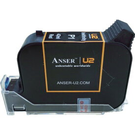テクノマーク(山崎産業) インクジェットプリンターU2用42ccインク 赤 AU203-001-8