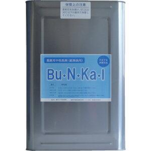 ヤナギ研究所 鉱物油用中性洗剤 Bu・N・Ka・I 18L缶 BU-10-K