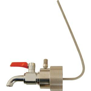 アクアシステム ペール缶用コック (油・オイル・洗剤)40mm専用 BVA-40P