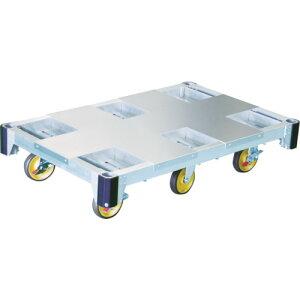 【直送】【代引不可】Pica(ピカ) アルミ台車CAF型6輪 1000kg CAF6