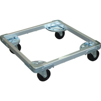 Extendable container cart Dolly DLF type length 400 - 500X side 500 - 600X75φDLF-7545 O-M apparatus