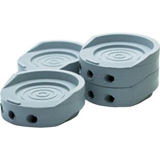 WAKI (Waki Sangyo) HYPER vibration absorption rubber φ70X25mm gray EGH-006