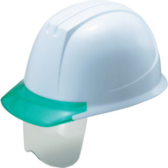 Airlight deployment shield expression helmet white / gray green 141VJ-SH-W3V3-J Tanizawa