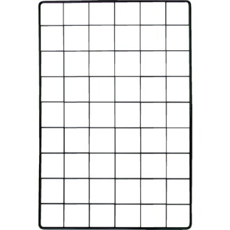 Mesh panel 900X1500mm black EMP005 WAKI (Waki Sangyo)