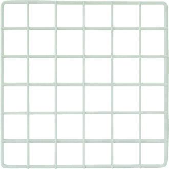 WAKI (Waki Sangyo) mesh panel 300X300mm white EMP028