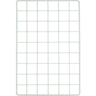 Mesh panel 300X450mm white EMP031 WAKI (Waki Sangyo)