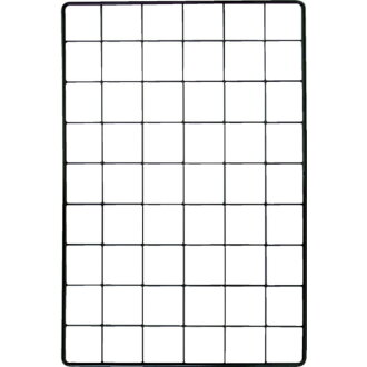 Mesh panel 600X1200mm black EMP042 WAKI (Waki Sangyo)